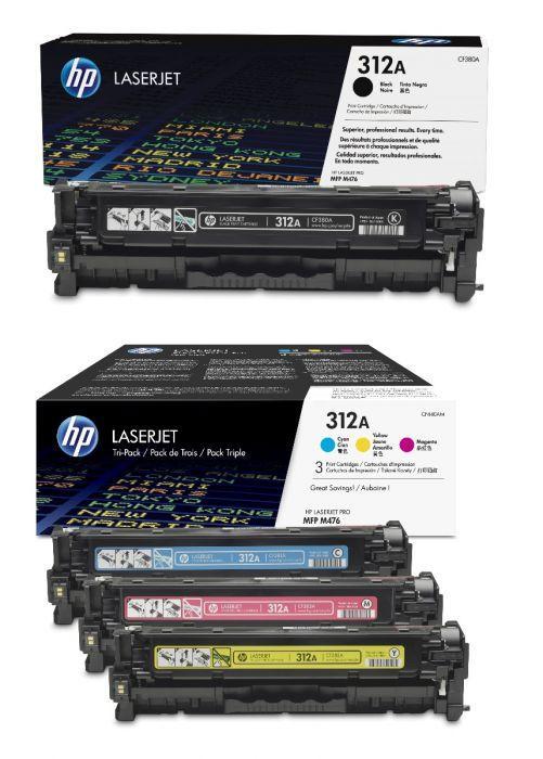 Картридж першопрохідний HP CLJ 312A BLACK (CF380A)