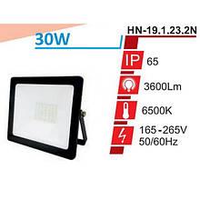Прожектор RIGHT HAUSEN STANDARD LED 30W 6500K IP65 Чорний HN-191232