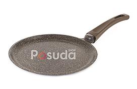 Сковорода для млинців з антипригарним покриттям Біол Граніт браун 24083П (24см)