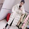 Женская длинная свободная повседневная куртка с капюшоном до колен, большие размеры