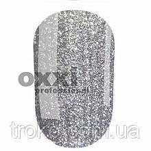 Гель-лак Oxxi  №198 серебристый с насыщенными блестками 10 мл