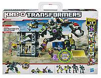 Конструктор KRE-O Трансформеры Девастатор-разрушитель 9-в1 Hasbro 560 деталей