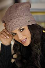 Красивая теплая женская шапка от Kamea-Melanie.