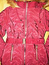 Пальта зимові для дівчаток оптом, Nice Wear , 6-14 рр, фото 3