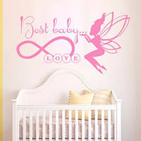 Виниловая наклейка на стену Best baby love