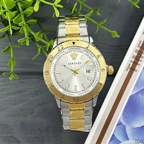 Versace 3104 Silver-Gold Big