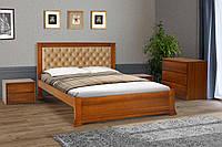 Кровать двуспальная Аризона 160 х 200 см орех (Беатрис 03)