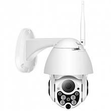 Уличная беспроводная поворотная наружная IP камера Besder C-P05 PTZ Wi Fi 4X zoom зум 1080p 2 MP