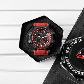 Casio G-Shock GPW-1000 Black-Red Wristband