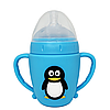 Пляшечка Пінгвін (блакитний)