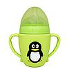 Пляшечка Пінгвін (салатовий)