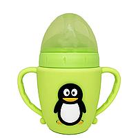 Бутылочка Пингвин (салатовый)