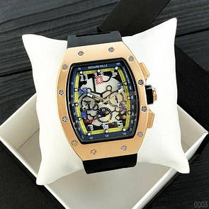 Richard Mille Automatic Gold-Black