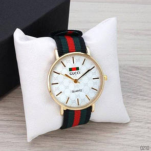 Gucci 6549 Gold-White Green-Red