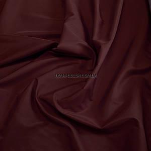 Ткань плащевка на основе президент бордовый