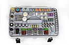 Гравер Vorskla ПМЗ 135/217 (кейс-валіза, 217 насадок). Гравер Ворскла, фото 3