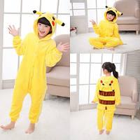 Пижама кигуруми детская Пикачу (костюм кигуруми пикачу покемон)