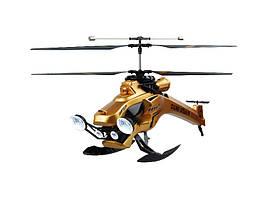 Вертоліт на ІЧ управлінні Auldey Dark Stealth золотий gYW857103