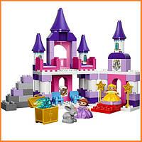Конструктор Лего Дупло Королевский замок Софии Первой Lego Duplo 10595