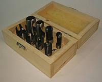 Набор пробочных сверл 8 ед. (6 мм, 10 мм, 13 мм, 16 мм)