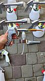 Торнадор Z 020 Пневмо пистолет для химчистки текстиля мебели Tornador, фото 7