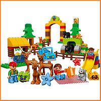 Конструктор Лего Дупло Лес: парк Lego Duplo 10584