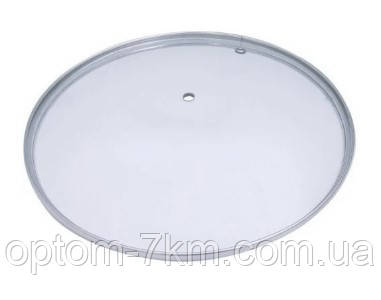 Крышка стеклянная 18 см UN-2202 б/к MX
