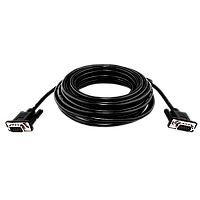 VGA -10.0BK, 10.0м черный, с двумя ферритовыми кол