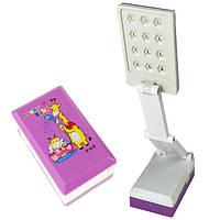 Лампа трансформер світильник ліхтар 12 led LED-412 Lucky Baby Жираф