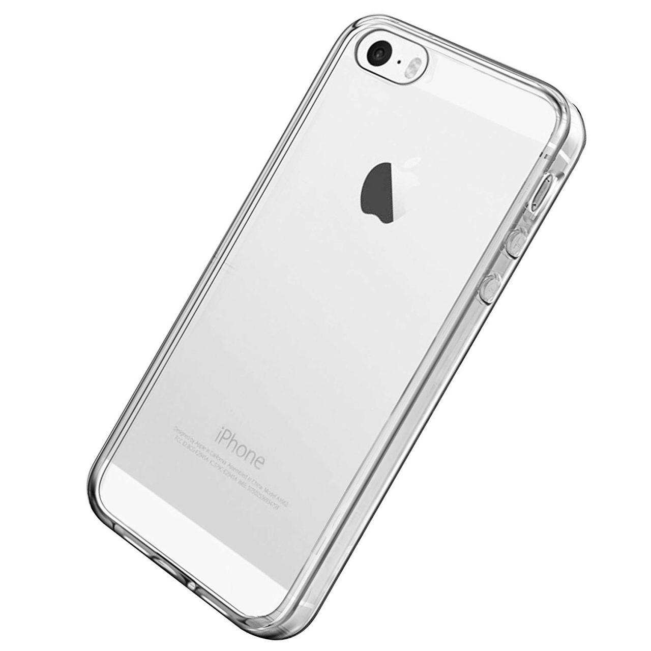Чехол 1TOUCH TPU Ultra Thin Air Apple iPhone 5, iPhone 5S, iPhone SE Clear