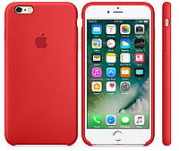 Чехол Apple Silicone Case iPhone 6, iPhone 6S Red_High Copy