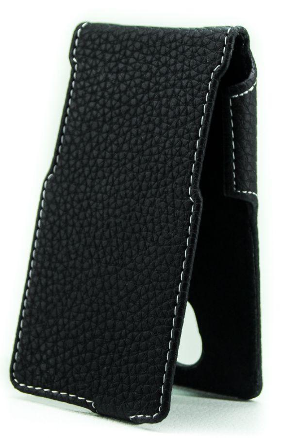 Чехол Status Side Flip Series Bravis Neo A401 Black Matte