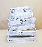Ящики декоративные КЯ-5 (3 ящика, прямоугольные)