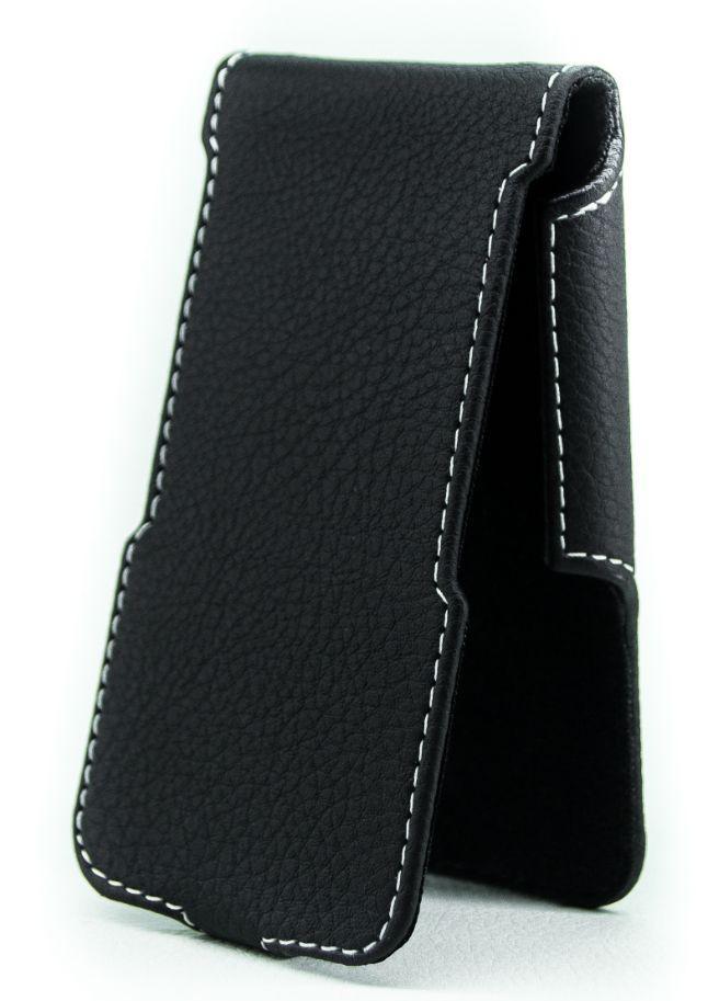 Чехол Status Side Flip Series Apple iPhone 4, iPhone 4S Black Matte