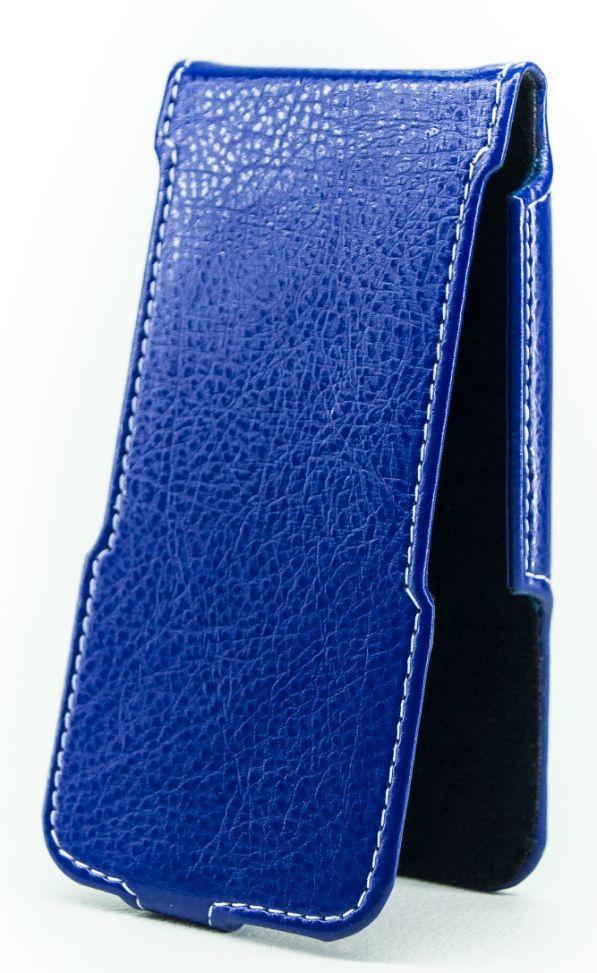 Чехол Status Side Flip Series Fly IQ4413 Quad Evo Chic 3 Dark Blue