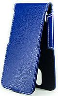 Чехол Status Side Flip Series Huawei Ascend Y625 Dark Blue
