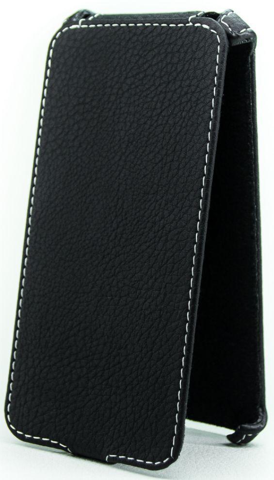 Чехол Status Flip Series Sony Xperia M5 E5633 Dual Black Matte