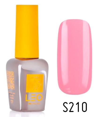 Гель-лак для нігтів LEO seasons №210 Щільний нюдовий рожевий (емаль) 9 мл
