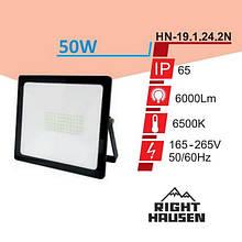 Прожектор RIGHT HAUSEN STANDARD LED 50W 6500K IP65 Чорний HN-191242