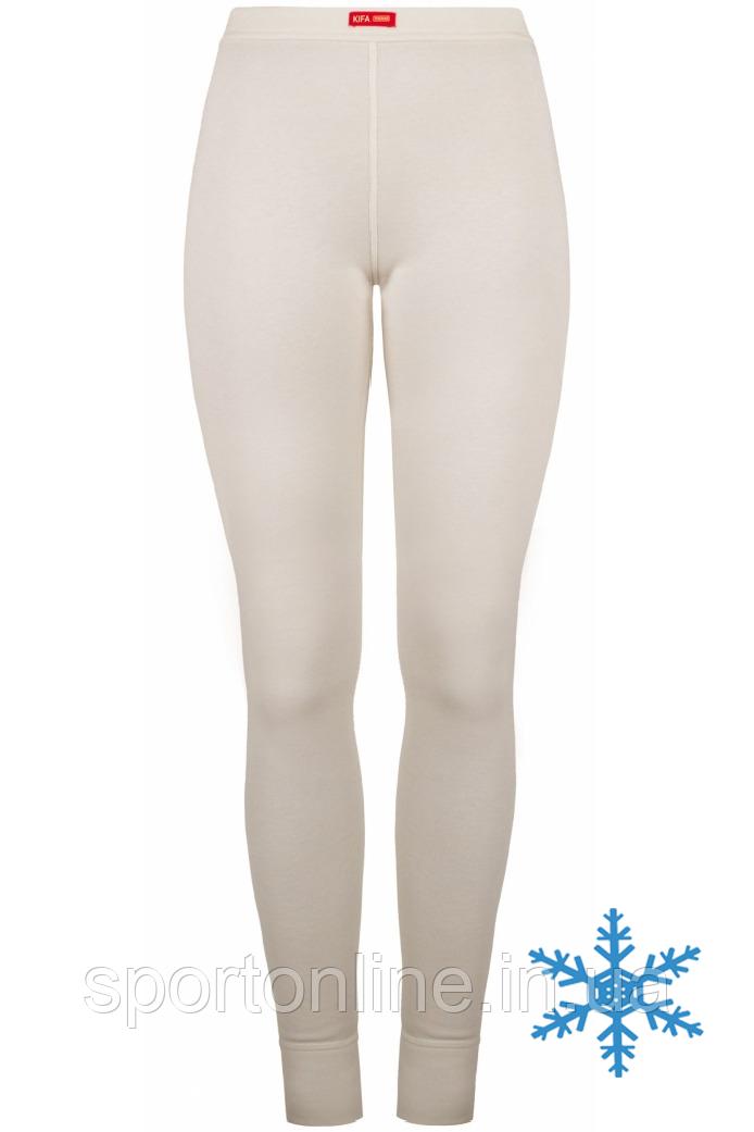Термолосины женские Кифа (Kifa) VORTEX Active Comfort ЛЖ-524, белые (молочные), тёплые S