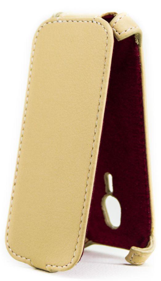 Чехол Status Flip Series Nokia 230 Dual Beige