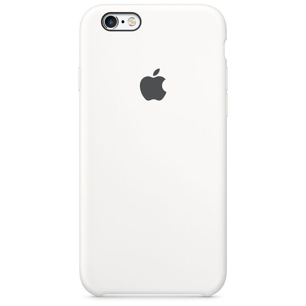 Чехол Apple Silicone Case iPhone 6, iPhone 6S White_High Copy