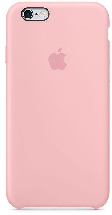 Чехол Apple Silicone Case iPhone 6, iPhone 6S Pink_High Copy