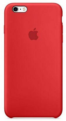 Чехол Apple Silicone Case iPhone 6 Plus, iPhone 6S Plus Red_High Copy