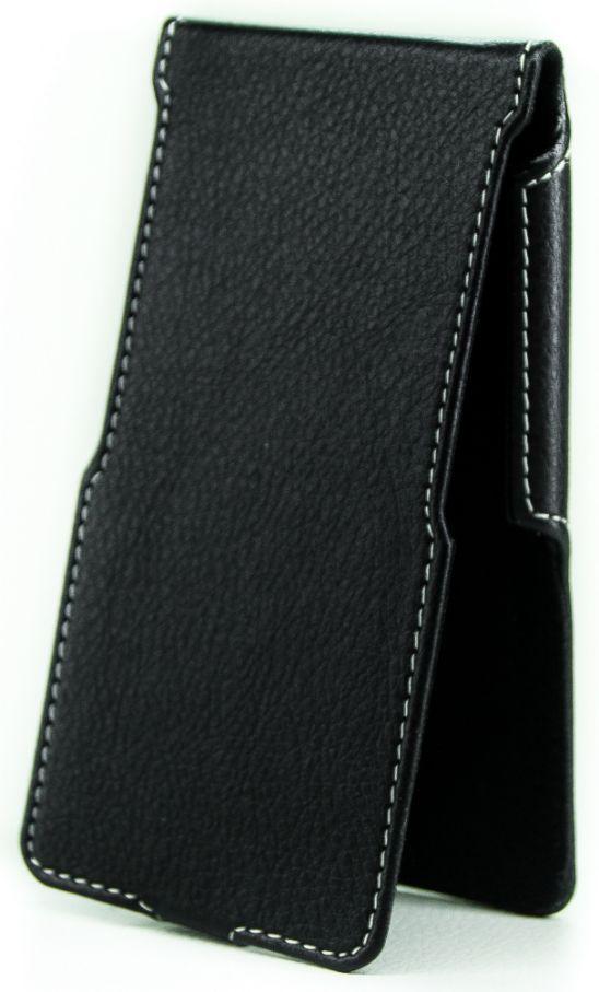 Чехол Status Side Flip Series Sony Xperia XA, Xperia XA Dual Black Matte