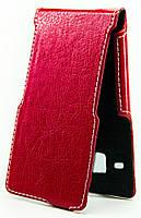 Чехол Status Side Flip Series Samsung J320 Galaxy J3 2016 Red