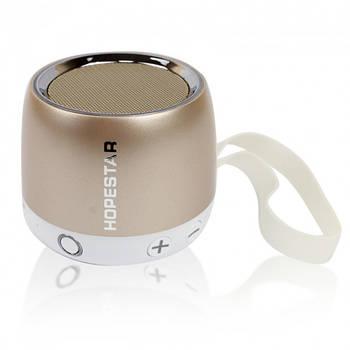 Портативная Bluetooth колонка Hopestar H17 (золотистая)