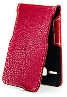 Чехол Status Side Flip Series Lenovo A916 Red