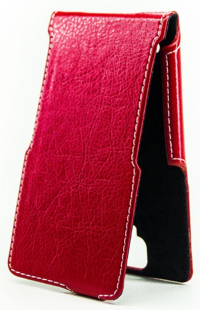 Чехол Status Side Flip Series Lenovo S8 S898T Plus Red