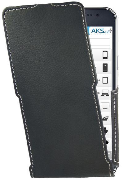 Чехол Status Side Flip Series Samsung J700 Galaxy J7 Black Matte